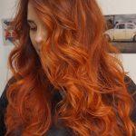 Warm Autumn Ginger Hair, Warmes Herbst-Ingwer-Haar