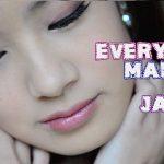 Tipps, wie man das perfekte   japanische Make-up anzieht