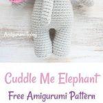 Cuddle Me Elephant crochet pattern | Crochet | Crochet, Crochet Toys