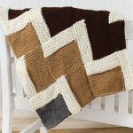 Häkeldeckenmuster · Easy Knit Zigzag Afghan Decken, Handarbeit, Kostenlose  Strickmuster, Strickmuster Frei, Strickgarn,