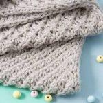 DIY-Anleitung: Babydecke im Sternchenmuster stricken, Decke stricken