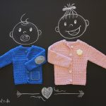Babyjacke häkeln - Gratis Anleitung | Stricken und Häkeln