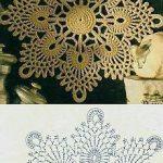 Wunderschöne Vintage und   zeitgenössische Häkeldeckchen-Muster