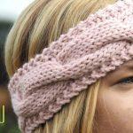 Stirnband stricken #5Tage5Köpfe - der Zopf   Handarbeiten
