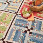 Martingale Freebies Biskuitrolle Quilt Muster, Quilts Kostenlos, Kostenlose  Muster, Lattenzaun Steppdecke, Picknick