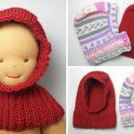 Schalmütze stricken für Babys - kostenlose Anleitung für Anfänger