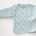 Anleitungen für Babyjäckchen & Babypullover in Arbeit   Stricken und
