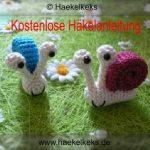 kostenlos Schnecke häkeln // gratis Anleitung | Crocheting