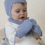 Baby Aviator Hat / DROPS Baby 14-16 - Kostenlose Strickanleitungen