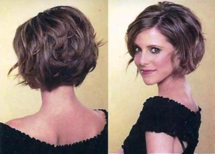 Holen Sie sich stilvolle   Kurzhaarschnitte für dickes Haar