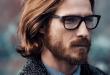 Coole frisuren lange haare männer mit brillen | hair styles in 2019