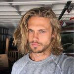 Frisur-Frisuren 30+ lange Haare Männer - Frisur-Frisuren