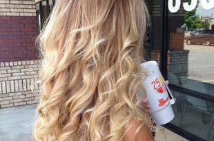frisuren , 23 lange lockige blonde Frisuren , #Lange Frisuren