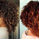 Erstaunliche lockige Frisuren 2019 – 35 Kurze und lange Bob-Haarschnitte