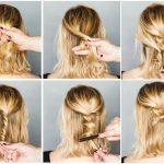 Lässige Hochsteckfrisuren Für Mittellange Haare 12 Tolle Styling
