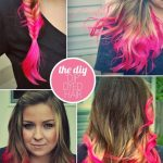 OH SO PRETTY the DIARIES: the DIY: DIP DYED HAIR.