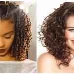 Curly Frisuren 2019: Top modische Hochsteckfrisuren und Trends für lockiges  Haar