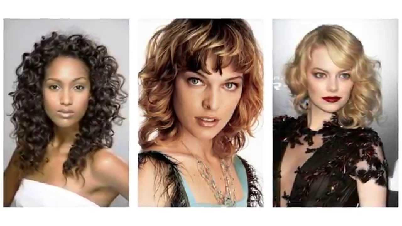 Lockige Frisuren:   Modeindikatoren