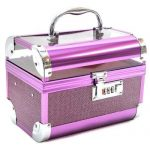 Purple Vanity Makeup Box