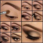 20 schönes Make-up für braune Augen