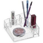 Acrylic Corner Makeup Organizer