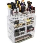 Now THIS is how you organize make up!! Wow! Kosmetik Aufbewahrung,  Schubladen