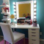 19 Make-up Vanity Ideen, die jedes Hollywood Starlet Eifersüchtig machen  würde vanity starlet