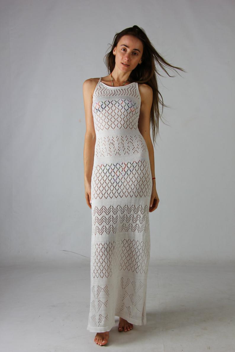 Häkeln Sie Maxi-Kleid ist eine   brillante Art und Weise, in einer Menschenmenge einzigartig zu sein