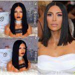 Großhandel 8A Brasilianisches Haar Gerades Haar Lace Front Remy  Menschenhaarperücke Kurze Bob Perücken Mittelteil Volle Spitzeperücke  Gebleichte Knoten Von