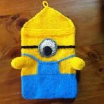 Minion DIY iPad Case | ipad cover | Pinterest | Stricken, Strickmuster and  Muster