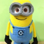 Die 106 besten Bilder von minions   Minion crochet, Crochet patterns und  Filet crochet