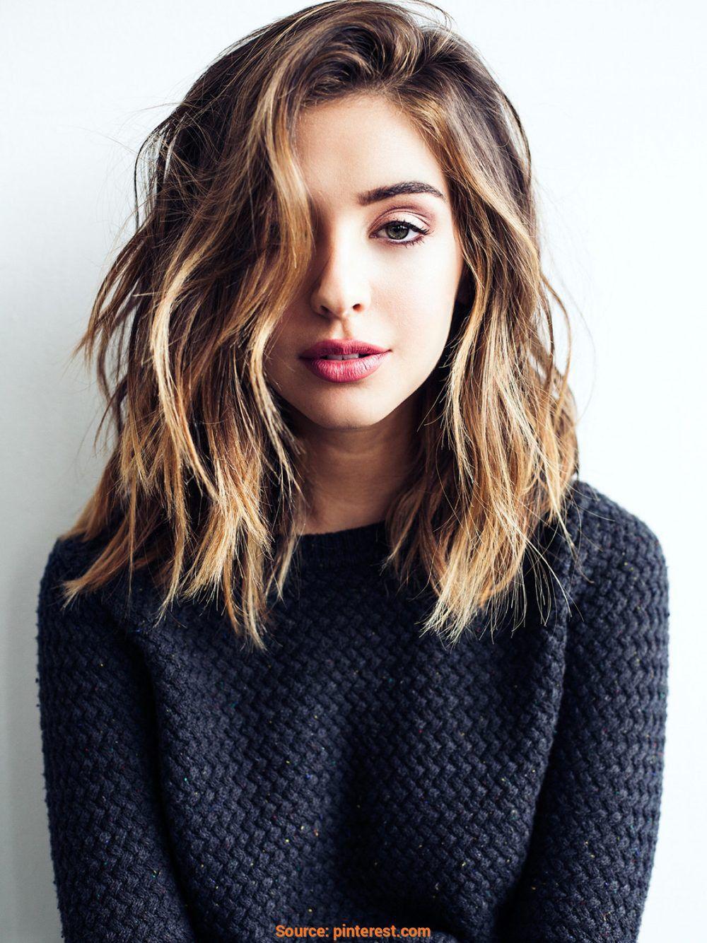 Verlieben Sie sich in Ihr mittleres Haar