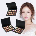 Image is loading 15Colors-3-Model-Makeup-Face-Contour-Kit-Highlight-