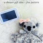 Häkelblog - Täglich neue Anleitungen: Schnuffeltuch Koala - Häkelanleitung