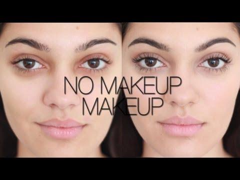 Wie man natürlich aussehendes   Make-up bekommt