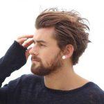 Mittlere Frisur für Männer
