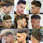 Beide Frisuren lassen genug Haare an der Spitze für Jungs, um andere coole  Looks, wie ein falscher Falke, Pompadour, Quiff, Fransen, Bürsten zurück  oder