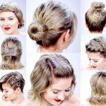 Party Frisuren für langes Haar Wie man es kurz 2018 aussehen