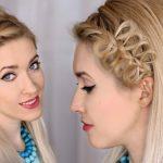 Schöne Party Frisuren selber machen – 55 einfache Ideen
