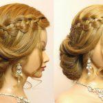 Hochzeit Prom Frisur für lange Haare Tutorial