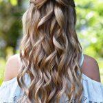 Prom Frisuren für sehr lange Haare #festliche #locken #festlichefrisuren  #einfache #einfachefrisuren #stile