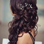 Side Prom Frisuren für langes Haar frisuren