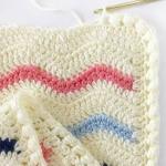 Free Pattern - Crochet Ripple Blanket Topflappen, Baby Geschenke, Häkeln  Ideen, Strickmuster,