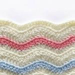 Free Pattern - Crochet Ripple Blanket Stricken Und Häkeln, Baby Afghan  Häkel Muster, Wellendecke