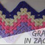 Ripple Crochet Baby Blanket Pattern Inspirational Granny In Zacken Häkeln  Anleitung