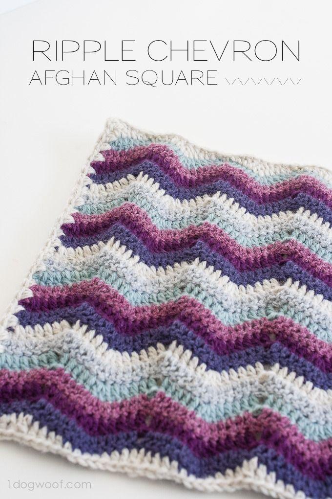 Finden Sie verschiedene Ripple   Crochet Patterns