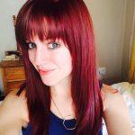 Wein Rote Haarfarbe 2 - Allefrisuren.de