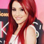 Ariana Grande - (Haarfarbe, färben, rot)