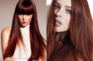 Edle Mahagoni Haarfarbe - Nuancen, Styling Ideen und Pflegetipps