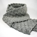 Web-Muster Schal für groß und klein - Häkelanleitung